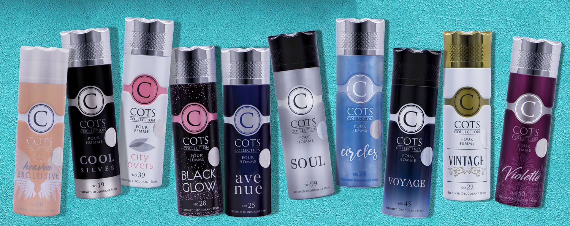 Cots Women Deodorants